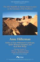 Anne Hillerman guest speaker for Rudolfo & Patricia Anaya Lecture