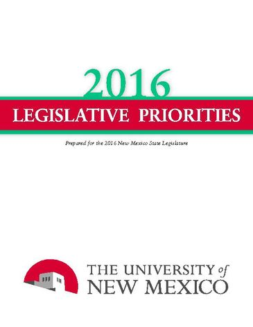 2016 Legislative Brochure