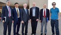 United States Secretary of the Navy visits UNM