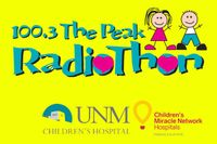 100.3 The Peak hosts 12th Annual Radiothon benefiting UNM Children's Hospital