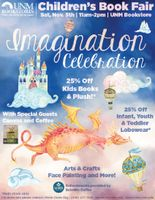 UNM Bookstore hosts 'Imagination  Celebration' Children's Book Fair Nov. 5