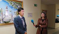 Mechanical Engineering professor visits new university in Turkmenistan