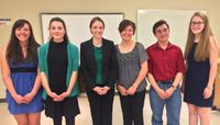 Reeves wins top honors in  Joe and Steve Mercer Memorial Scholarship Speech Tournament
