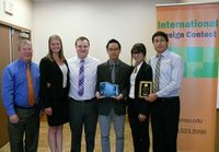 UNM team wins prize in IEE International Design Contest