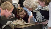 Medieval Manuscript Seminar attracts students from across the country