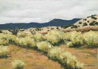 'Landscapes: Near & Far,' an exhibition of pastel paintings now on exhibit