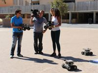 UNM robots to be featured on TV program