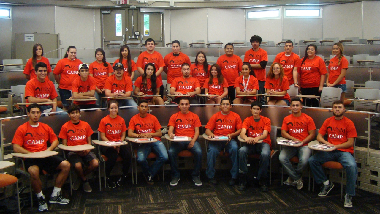 UNM CAMP students
