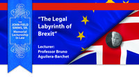 Lecture at the UNM Law School to shed light on 'The Legal Labyrinth of Brexit'