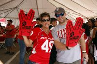 Alumni, Athletics and Lobo Club hit the road for traveling tailgates this football season