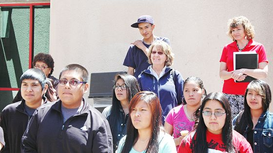 college  education receives support  native american educators unm newsroom