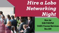UNM's Hire a Lobo Networking Night 2016 set for Nov. 1