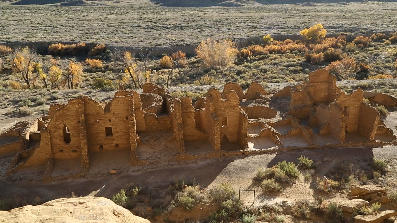 Great Houses at Chaco