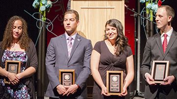 Clauve award recipients