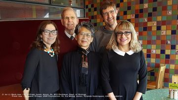 Local optometrists support urgent needs for UNM's Biology Department
