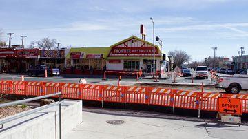 Crosswalks closed Cornell & Central