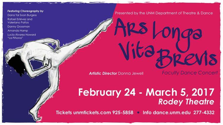Ars Longa Faculty Dance Concert