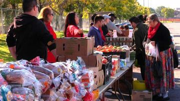 Lobo Food Pantry on Friday, April 27