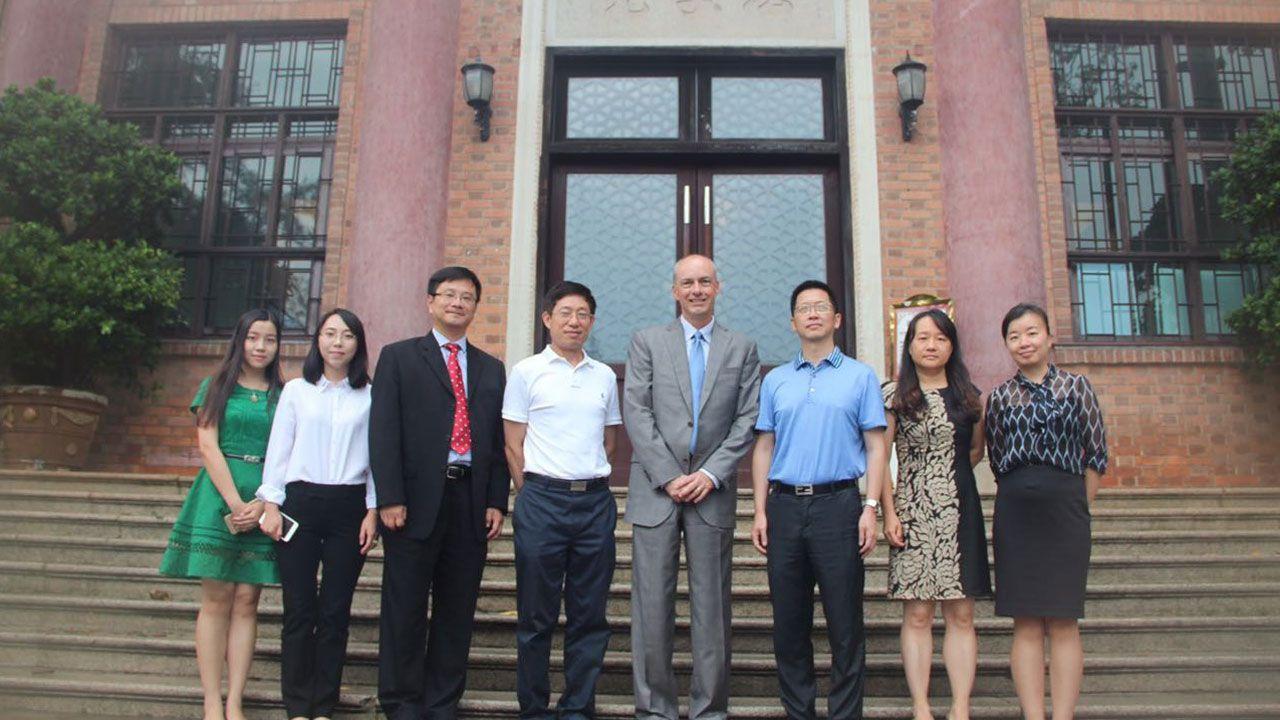 ASM Dean Craig White - Chinese visit