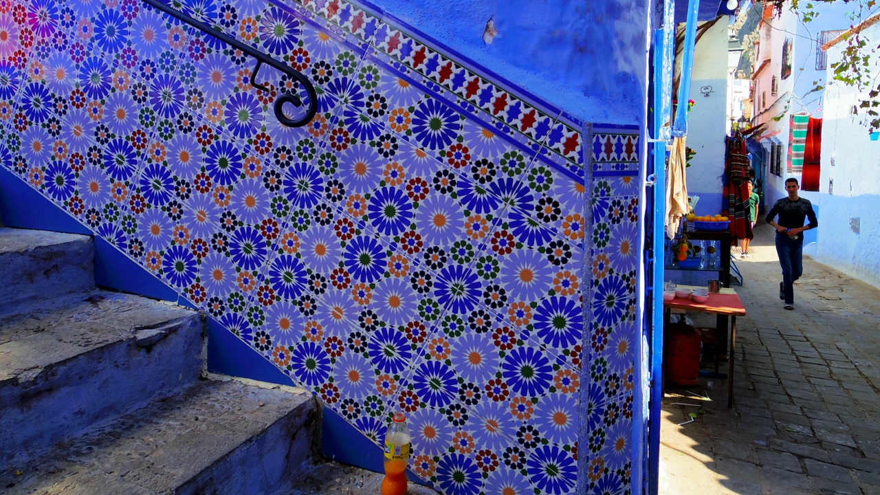 Side streets of Morocco