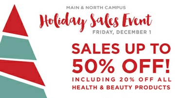 UNM Bookstore features annual holiday sales event