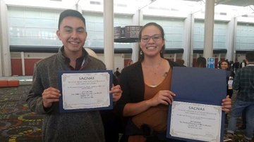 UNM students shine at SACNAS National Diversity in Stem Conference
