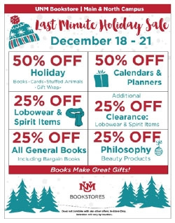 Last Minute Holiday Sale