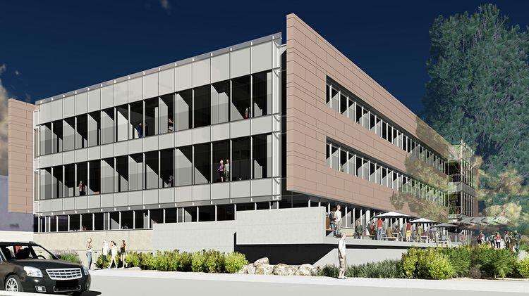 Farris Engineering Center rendering