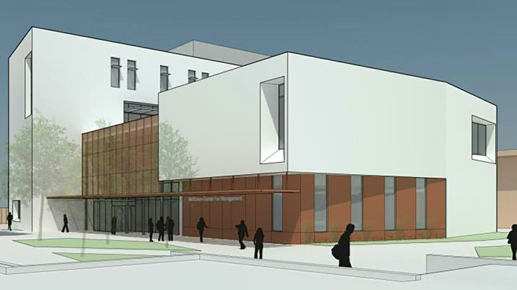 McKinnon Center for Management rendering