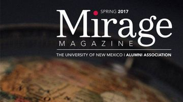 Mirage Magazine moves to digital delivery for UNM on-campus faculty and staff