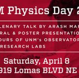Physics & Astronomy hosts UNM Physics Day 2017