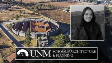 Visiting UNM Professor honored by women's group, named Architect of the Year
