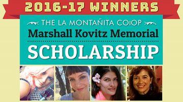 Students awarded La Montañita Co-op Marshall Kovitz Memorial Scholarship, Sustainability Studies Scholarship