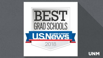 UNM programs ranked in latest U.S. News & World Report rankings