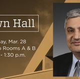 Town Hall set for Tuesday, March 28