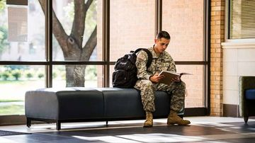 Military and Veteran presence at UNM