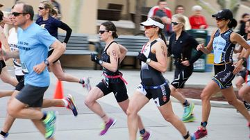 Lobo Triathlon Training Schedule for Weeks 11 & 12; race day set for April 9