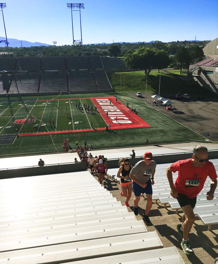 Annual Stadium Stair Challenge