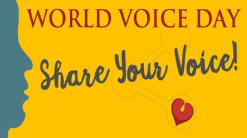 Department of Speech and Hearing Sciences hosts World Voice Day