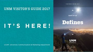 2017 UNM Visitor Guides have arrived