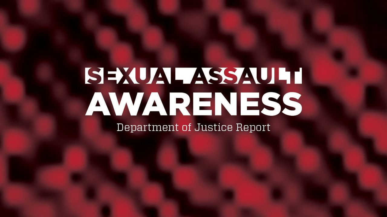 Sexual assault awareness month DOJ Report