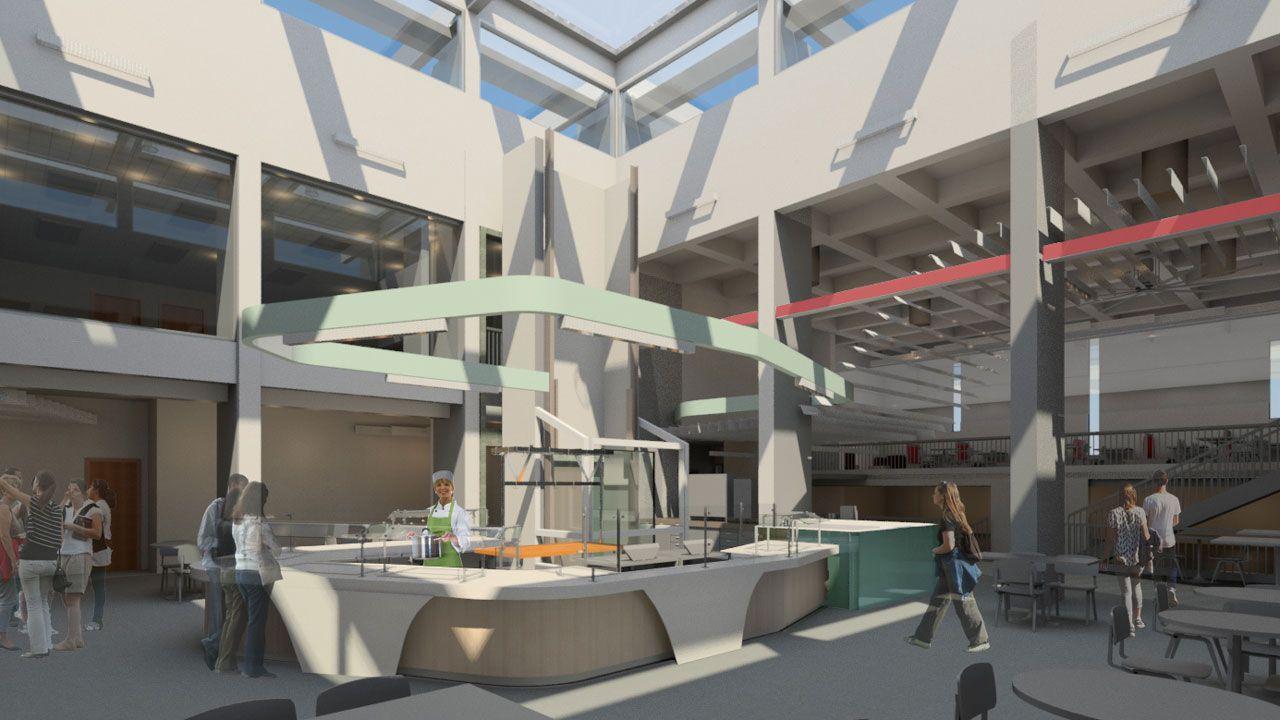 New La Posada Atrium