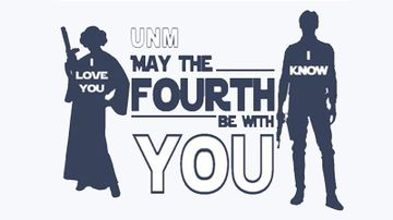 'May the Fourth be with you' celebration