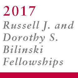 2017 Bilinski recipients
