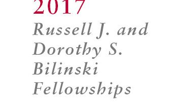 2017 Bilinski recipients