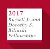 2017 Bilinski Fellowship recipients announced