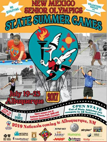 NM Senior Olympics State Summer Games