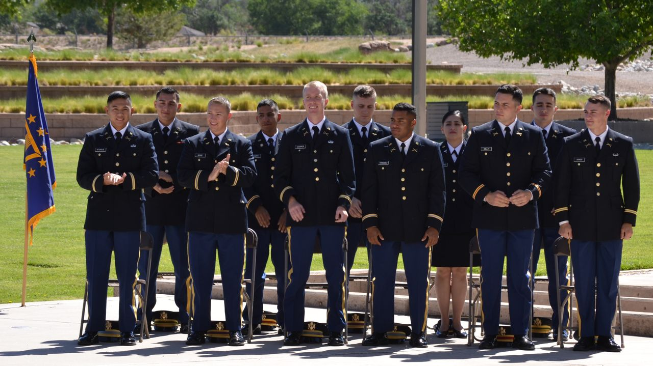 university of new mexico army rotc graduates