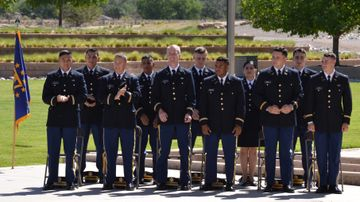 UNM holds ceremony for graduating students commissioned in the United States Army