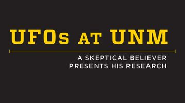 Willard Lecture Series to address UFO research